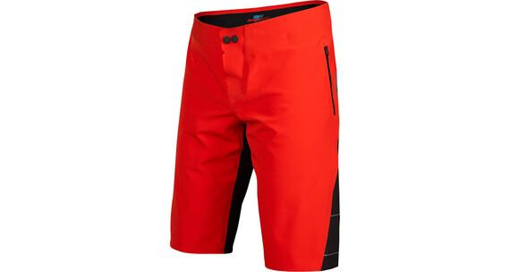 Fox Downpour Spodnie rowerowe Mężczyźni czerwony